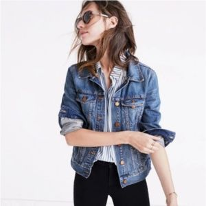 Madewell Jean Jacket in Pinter